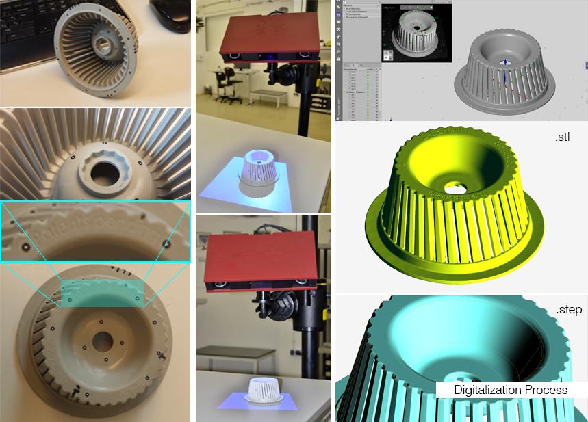 cad, ree, step, model, laser scanning